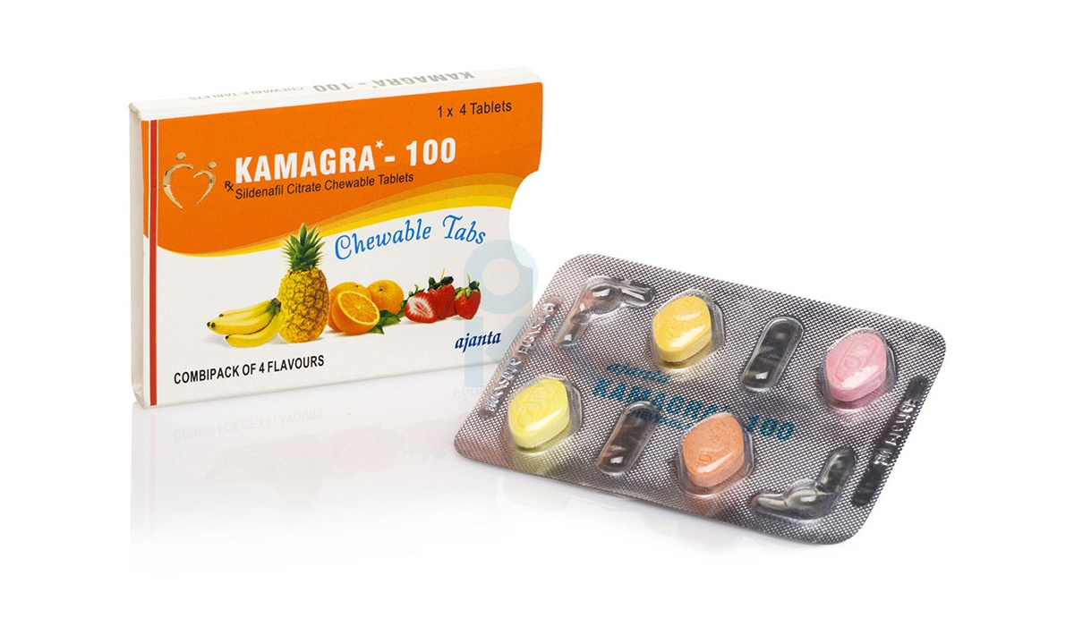 Kamagra Chewable 40x100mg (10 pack)