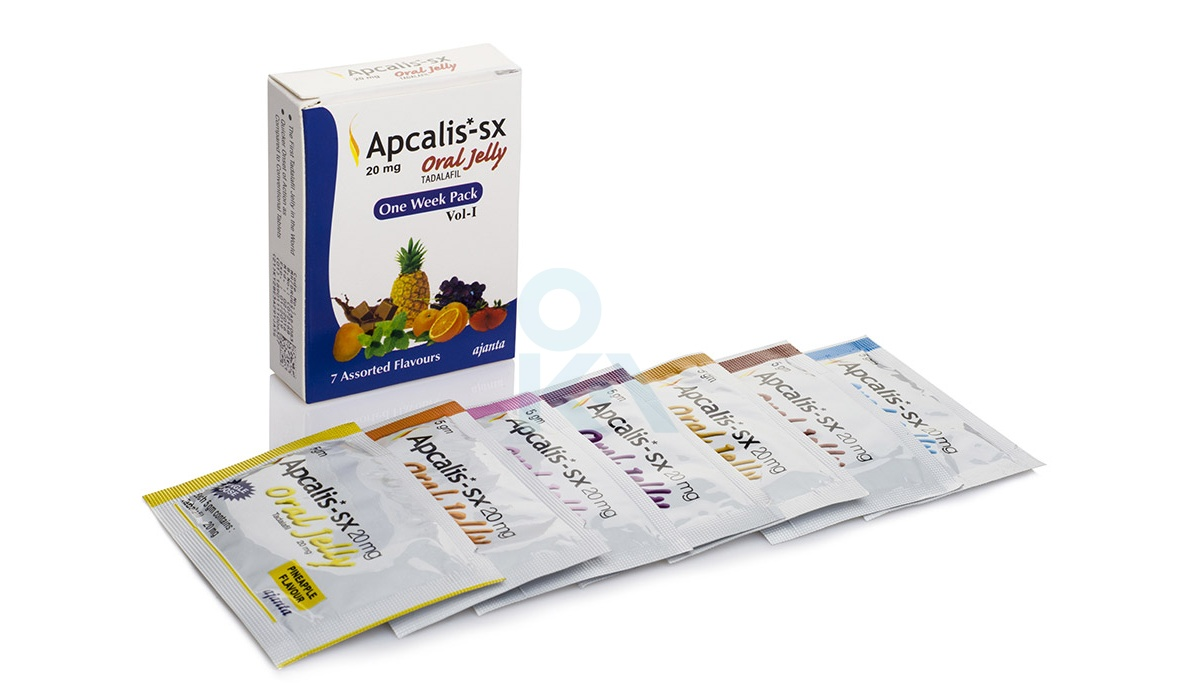 Apcalis SX Oral Jelly 7x20mg (1 pack)